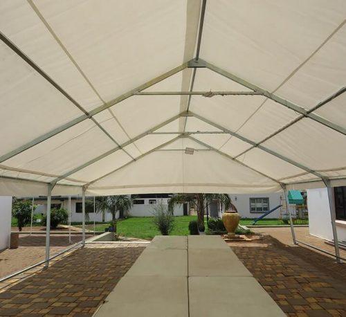 9x18m Rectangular Tubing Frame Tent