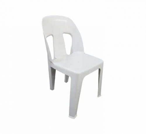 White Plastic Party Chair