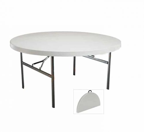 Round folding table 1.6m ( 8-10 Seater )