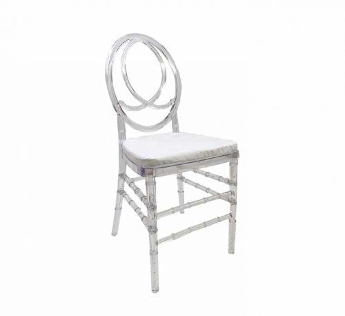 Clear phoenix chair resin