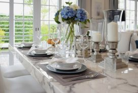 TABLE AND ACCESSORIES